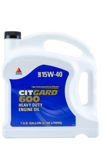 CITGO CITGARD 600 15W40 HEAVY DUTY ENGINE OIL