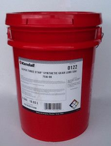 KENDALL SUPER 3 STAR SYNTHETIC GEAR LUBE 75W90