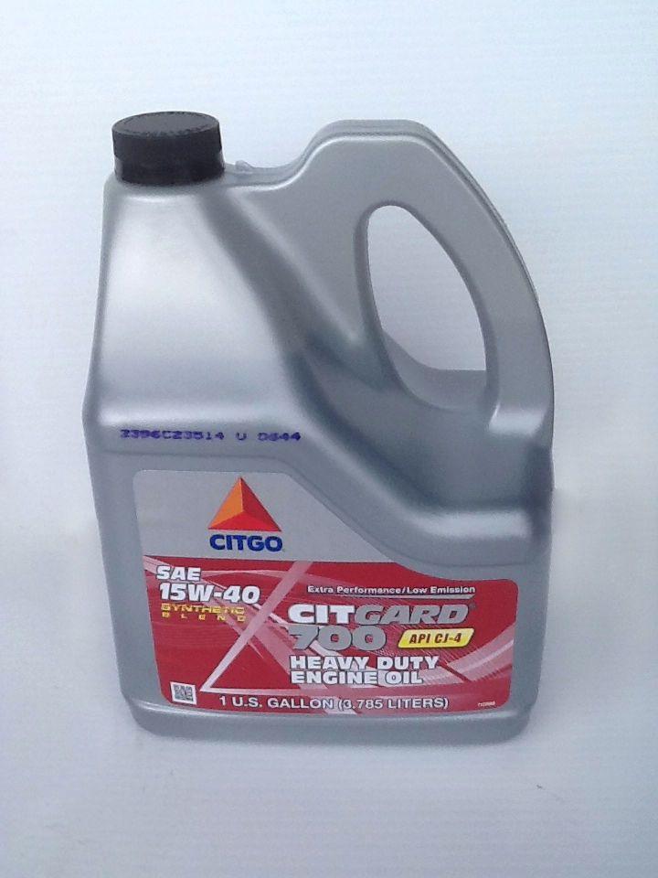 Citgo Citgard 700 15w40