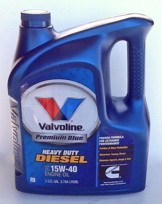 Valvoline premium blue 15w40 for Buy motor oil online