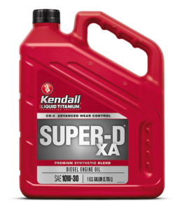 Kendall Super-D XA 10W30 Heavy Duty Motor Oil
