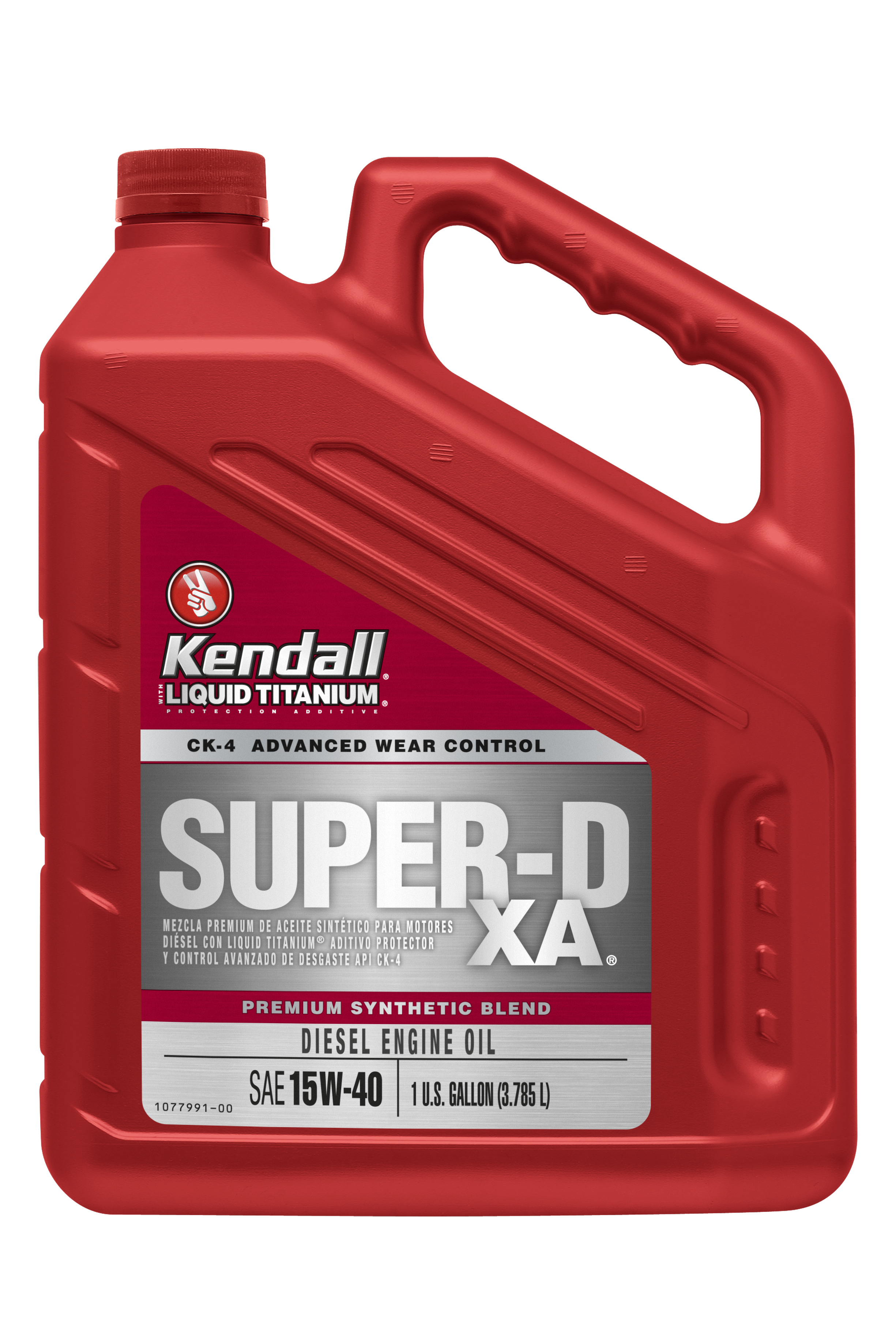 Buy kendall super d xa 15w40 heavy duty engine oil online for Why use synthetic blend motor oil