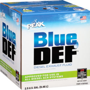 PEAK BLUE DEF DIESEL EXHAUST FLUID