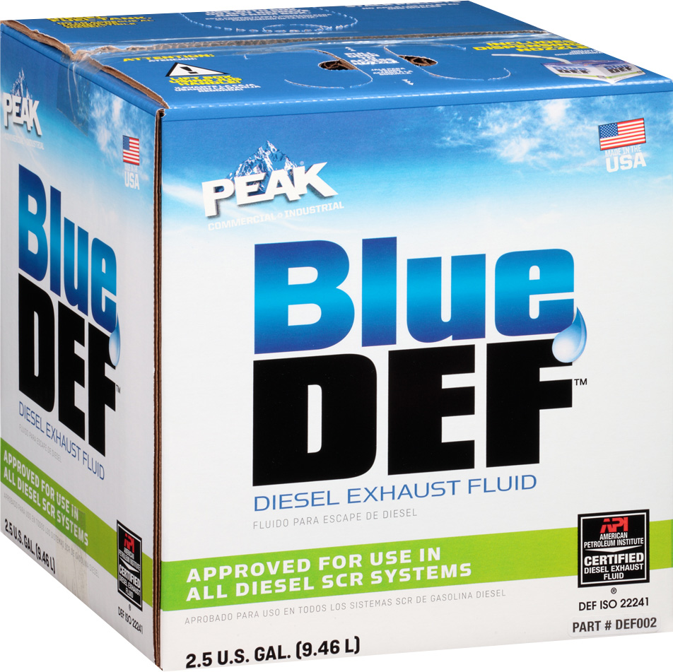 Diesel Exhaust Fluid >> Buy Peak Blue DEF Diesel Exhaust Fluid Online - Yoder Oil