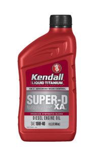 Kendall Super D-XA 15W40 Heavy Duty Engine Oil