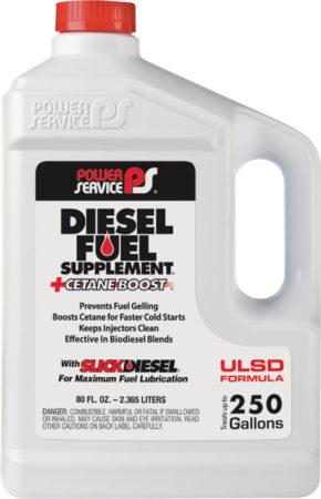 Power Service Diesel Fuel Supplement plus Cetane