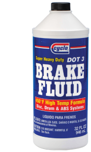 Cyclo Super Heavy Duty DOT 3 Brake Fluid