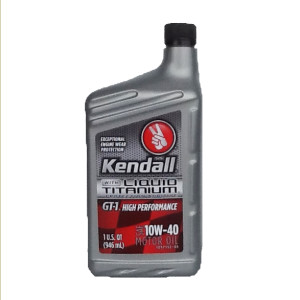 KENDALL GT-1 HIGH PERFORMANCE 10W40