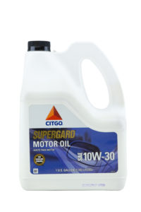 Citgo Supergard 10W30 Motor Oil Gallons