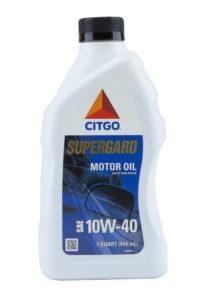 Citgo Supergard 10W40 Motor Oil