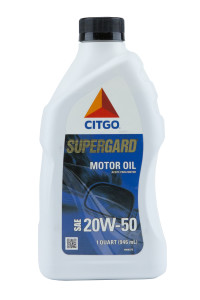 Citgo Supergard 20W50 Motor Oil