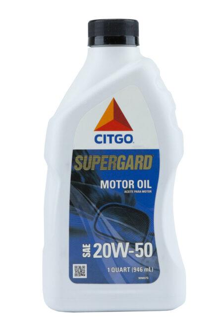 Citgo Supergard 20W50 Motor Oil