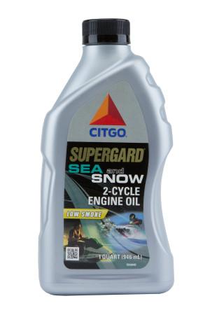 CITGO SUPERGARD SEA SNOW 2 CYCLE ENGINE OIL