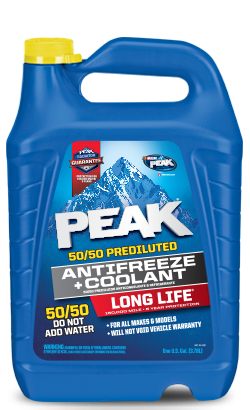 Peak Long Life Prediluted Yellow Antifreeze