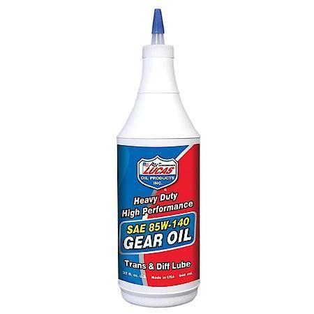 Lucas Heavy Duty 85W140 Gear Oil