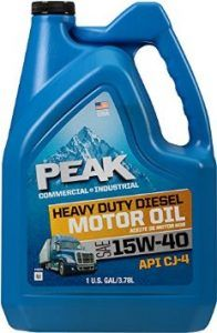 PEAK 15W40 HEAVY DUTY DIESEL MOTOR OIL