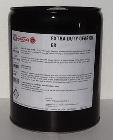 Phillips 66 Extra Duty Gear Oil 68