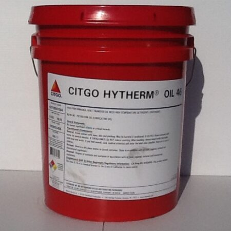 CITGO HYTHERM OIL 46 HEAT TRANSFER OIL