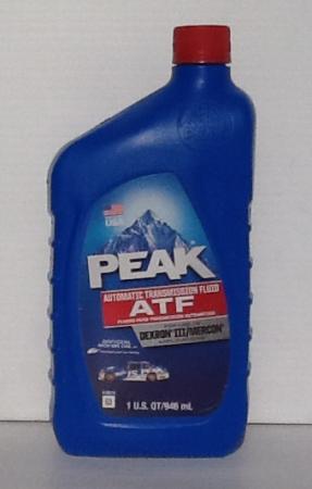 Peak Dexron III Automatic Transmission Fluid