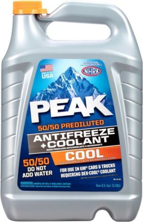 PEAK DEXCOOL 5050 ORANGE ANTIFREEZE
