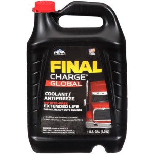 PEAK FINAL CHARGE GLOBAL CONCENTRATE ANTIFREEZE