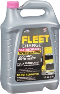 Peak Fleet Charge 50/50 Pink Antifreeze
