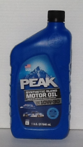 Peak Synthetic Blend 10W30 Motor Oil