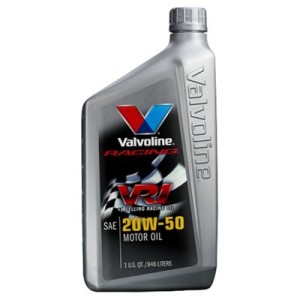 VALVOLINE RACING 20W50 MOTOR OIL