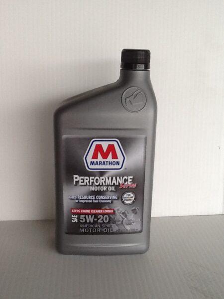 MARATHON CONVENTIONAL 5W20 MOTOR OIL