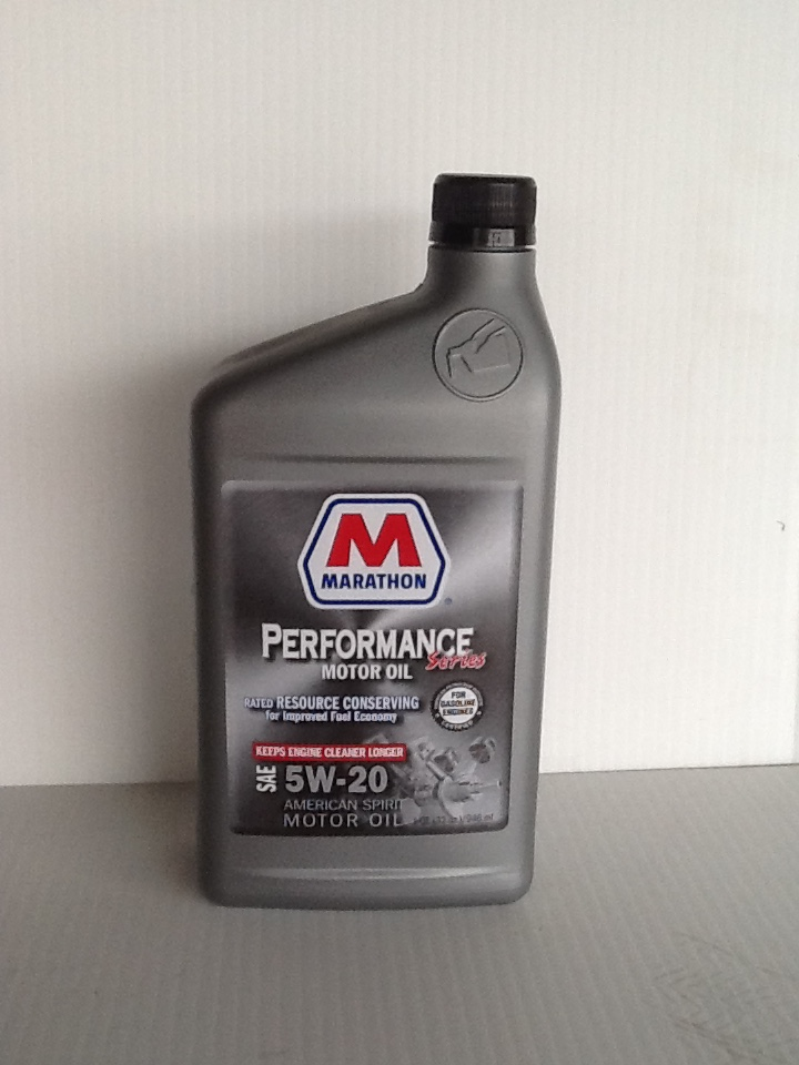 Buy marathon conventional 5w20 motor oil 12 1 qts case for How to buy motor oil