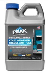 PEAK DIESEL ANTI-GEL DIESEL FUEL ADDITIVE