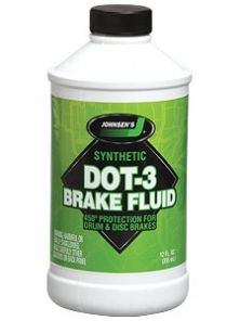 Johnsen's DOT 3 Brake Fluid