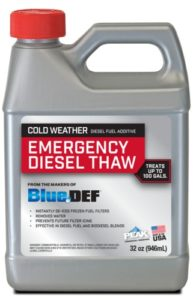 Peak Emergency Thaw Diesel Fuel Additive