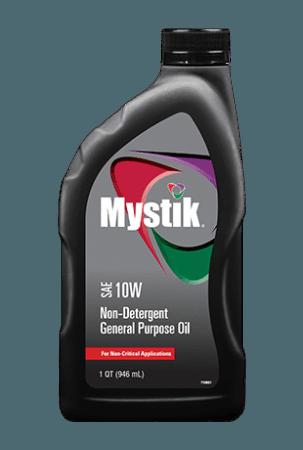 Mystik Non-Detergent 10W Oil