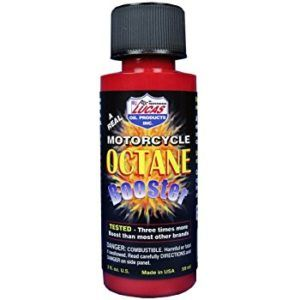 Lucas Motorcycle Octane Booster
