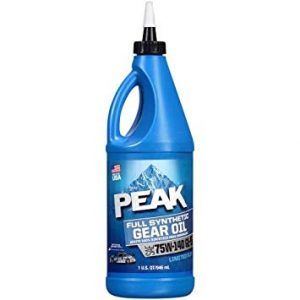 Peak 75W140 Gear Oil