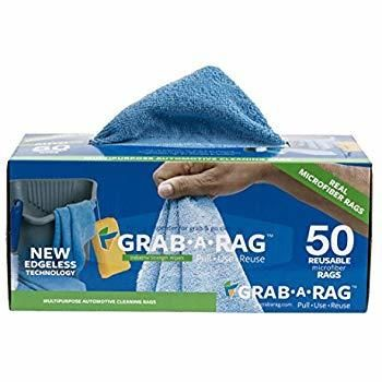 Blue Microfiber Rag