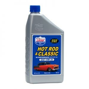 Lucas 10W30 Hot Rod Oil